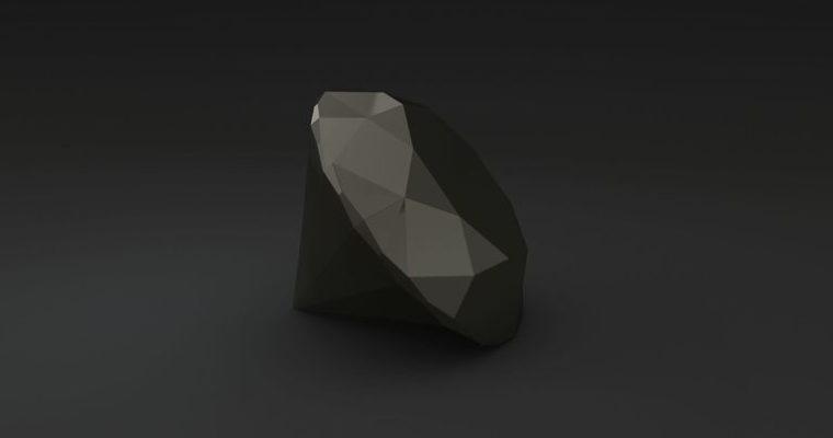 Pietre preziose dallo spazio: il diamante nero