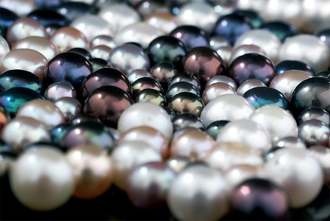 Come posso pulire le mie perle?