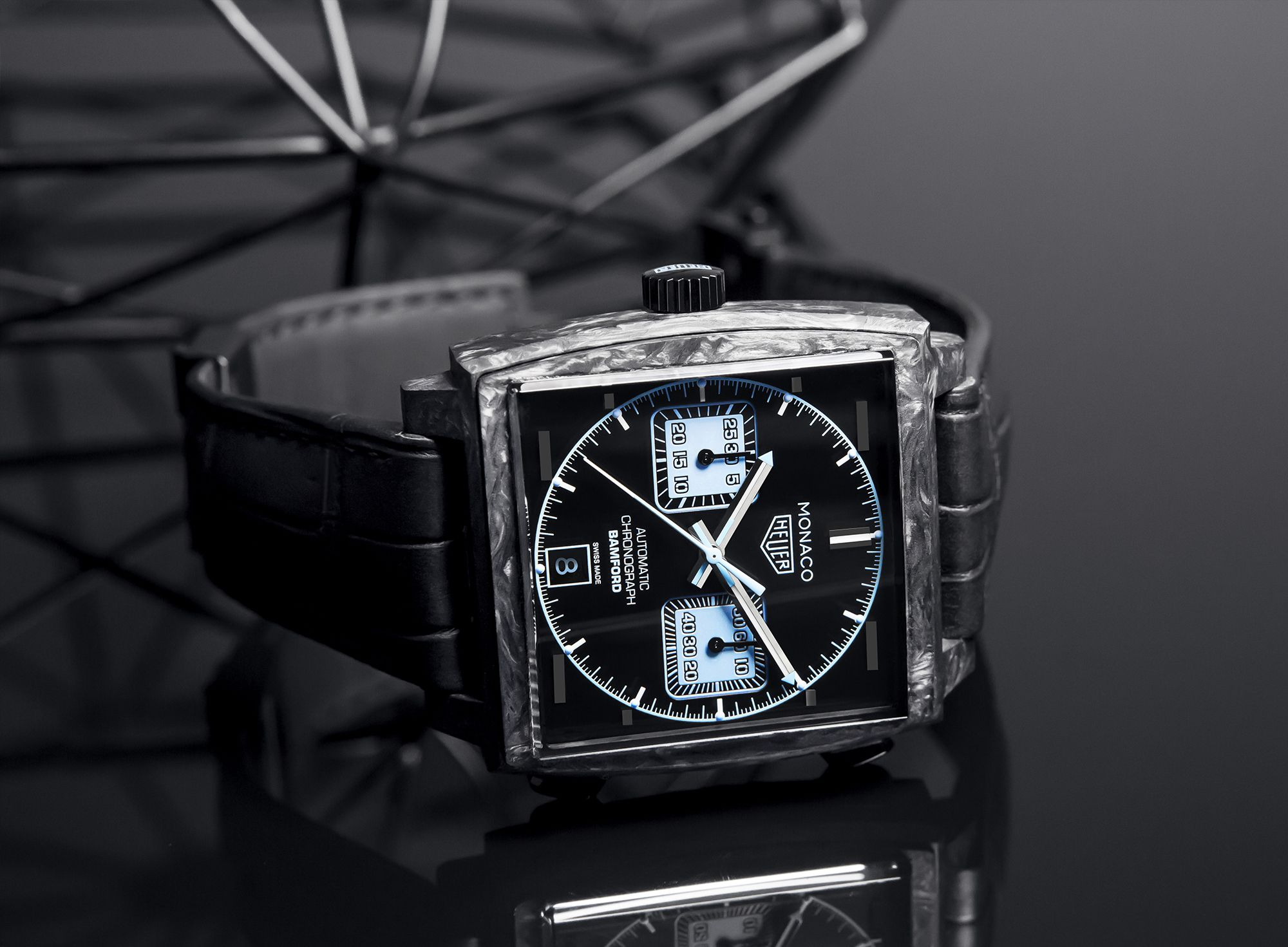 Baselworld 2018 | BAMFORD WATCH DEPARTMENT RINNOVA L'ICONICO TAG HEUER MONACO