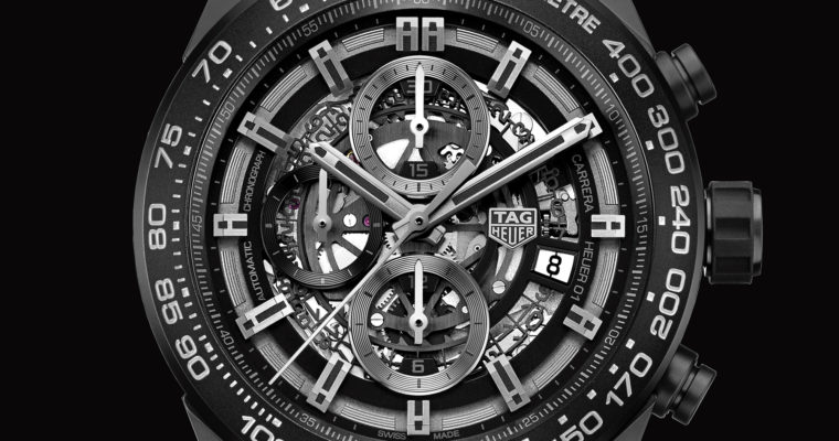 TAG Heuer Carrera Calibre HEUER 01 Automatic Chronograph 45 mm