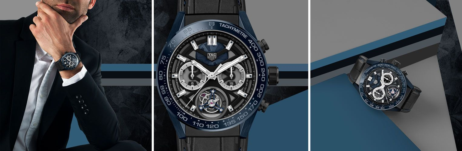 Baselworld 2018 | TAG HEUER CARRERA CHRONOGRAPH TOURBILLON CHRONOMETER