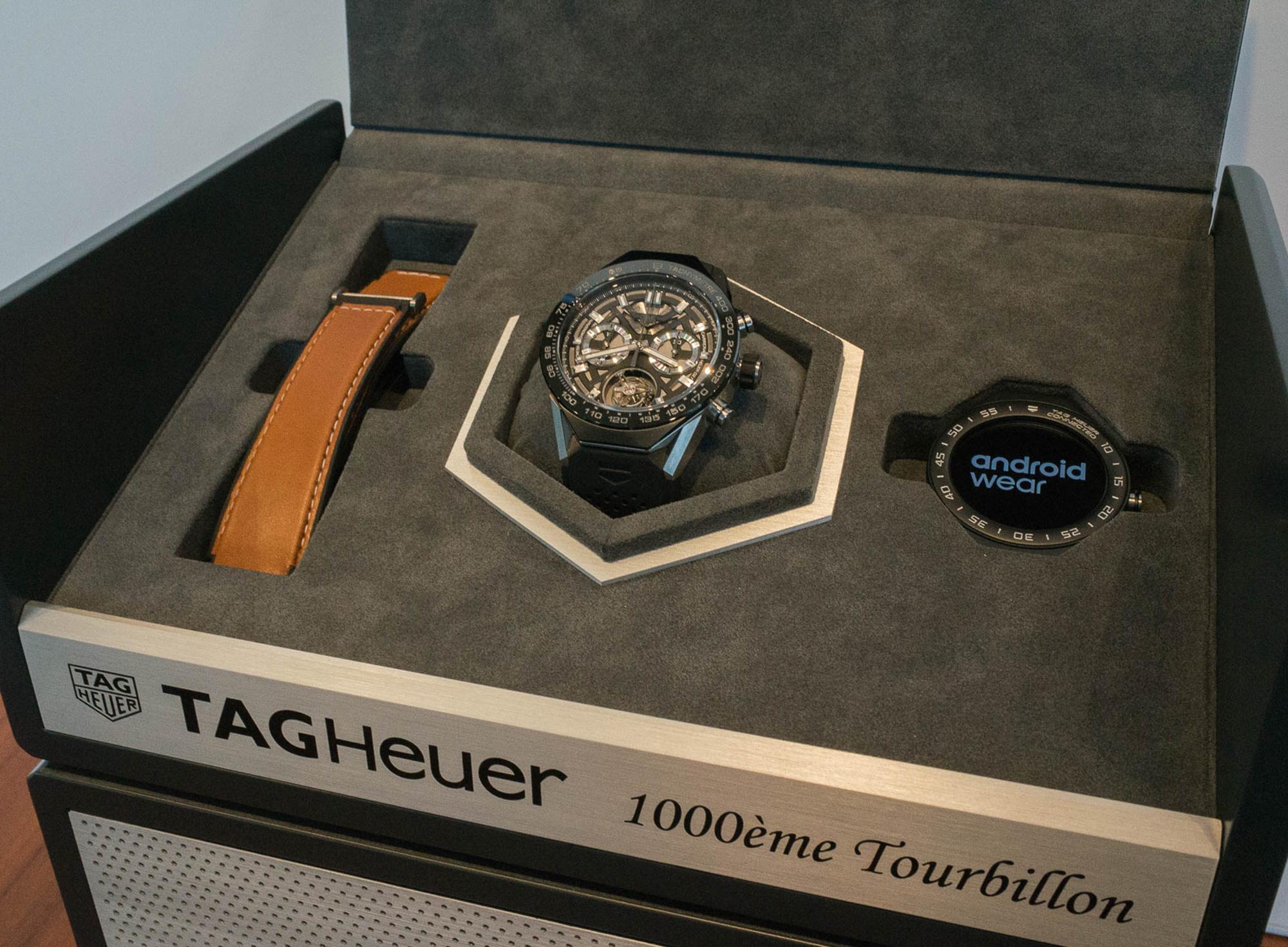 TAG Heuer annuncia l'uscita del millesimo Tourbillon certificato COSC