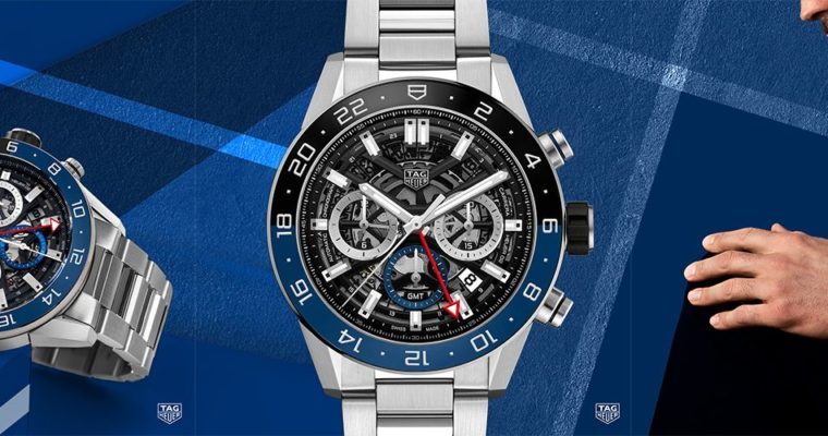 BASELWORLD 2018 | NUOVO TAG HEUER CARRERA CHRONOGRAPH GMT