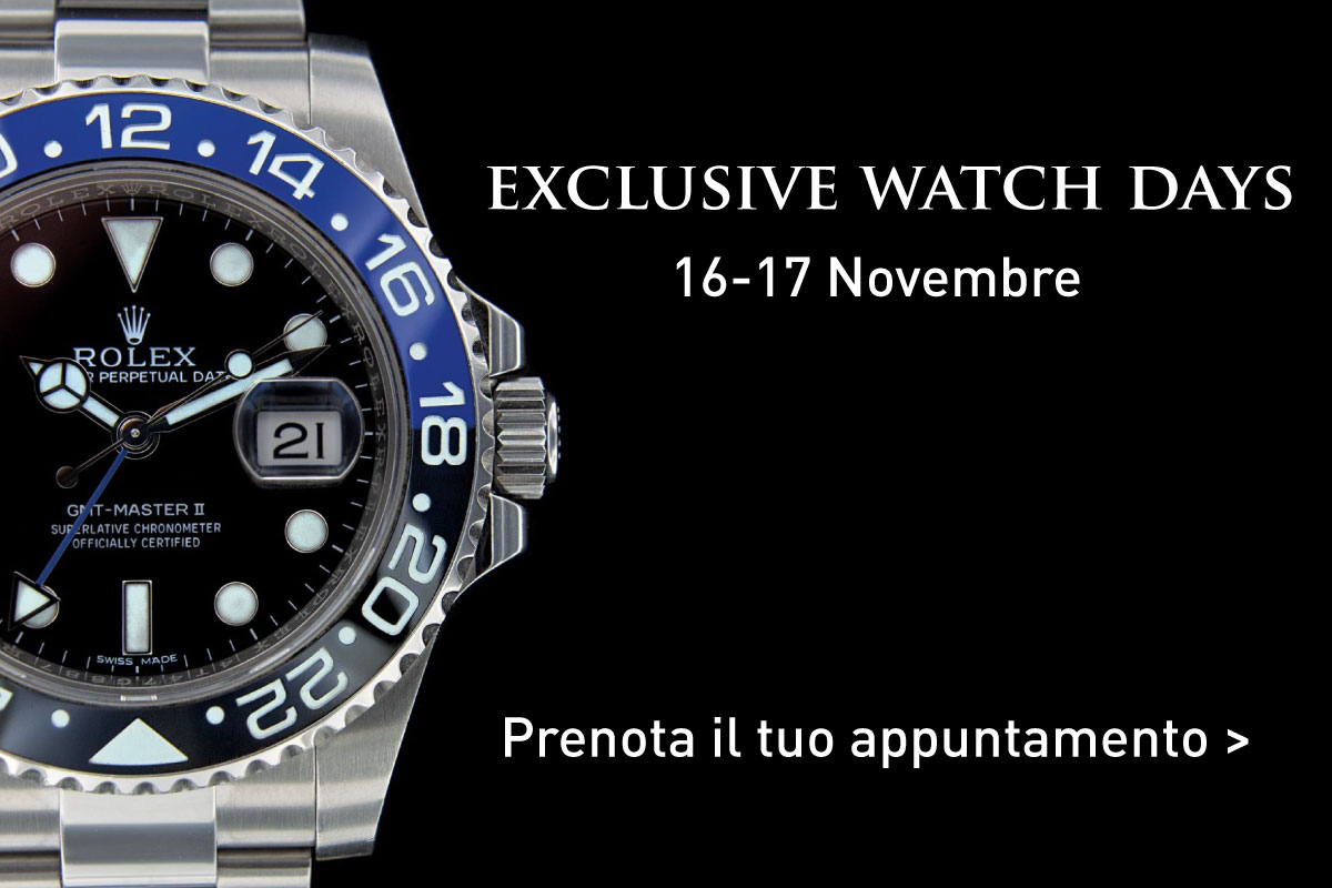 Exclusive Watch Days 16 e 17 Novembre