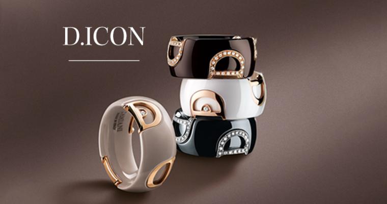 Ceramica, oro e diamanti con D.Icon