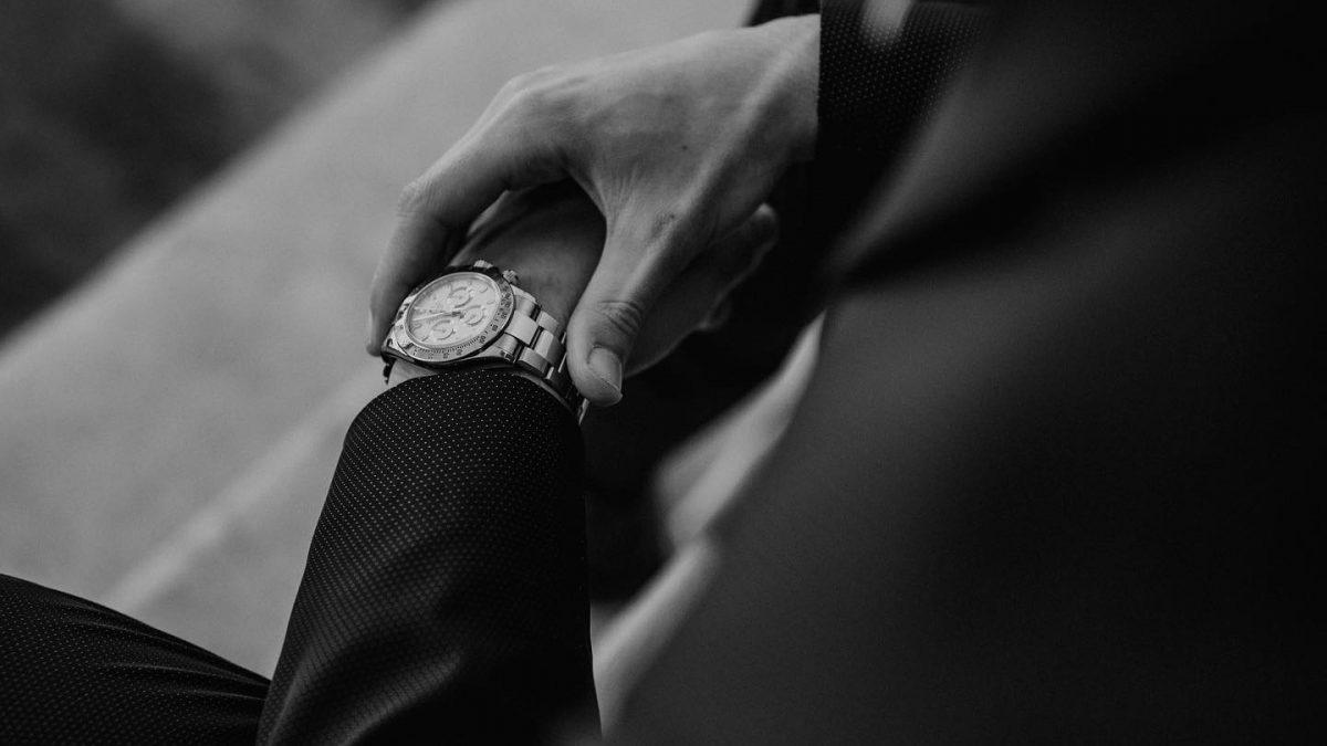 Guida all'orologio il giorno delle nozze