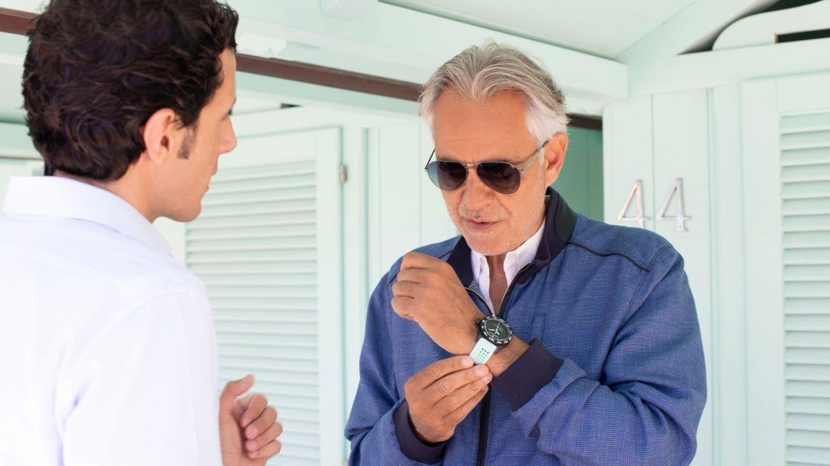 L'orologio di Andrea Bocelli è stato venduto a 19.500 euro