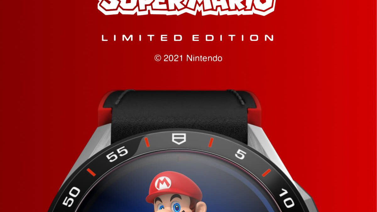 Arriva il nuovo TagHeuer Connected x SuperMario