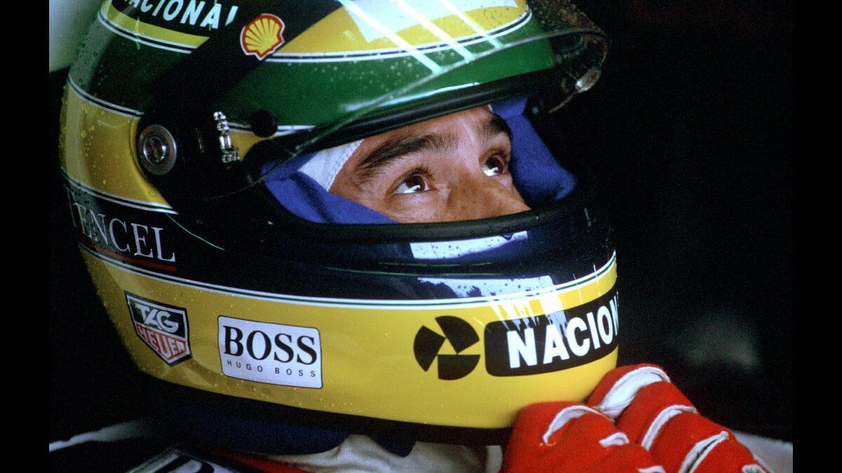 TagHeuer omaggia Aryton Senna